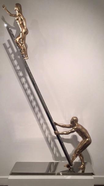 Lorenzo Quinn, Reach, Sculpture